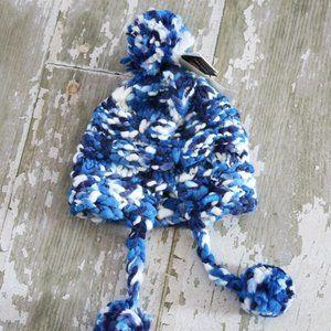 NWT BURTON NANA EARFLAP Knit Winter Beanie Hat Cap